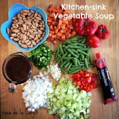 Kitchen Sink Vegetable Soup