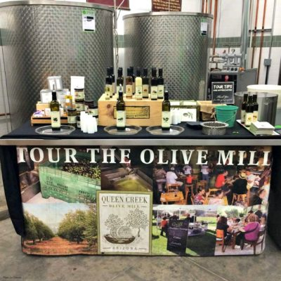 Queen Creek Olive Mill Tasting and Tour