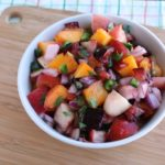 Stone Fruit Salsa~ Thyme for Cocktails
