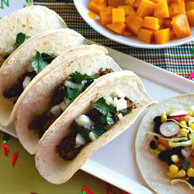 Antojitos Party Ideas~ Barbacoa Street Tacos