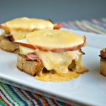 Ham Apple Gouda Crostini