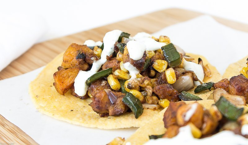 pod www butternut squash black bean tostadas from www ...