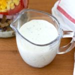 Creamy Honey Lime Dressing