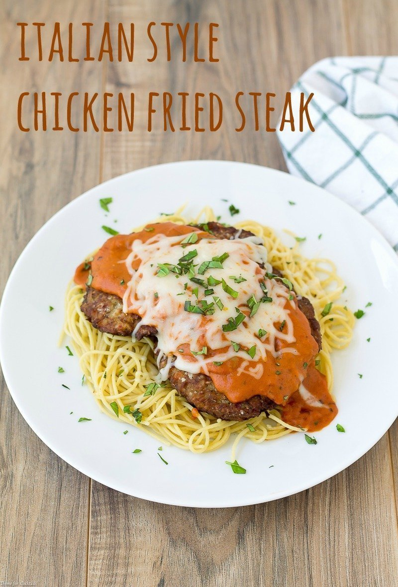 Italian Style Chicken Fried Steak
