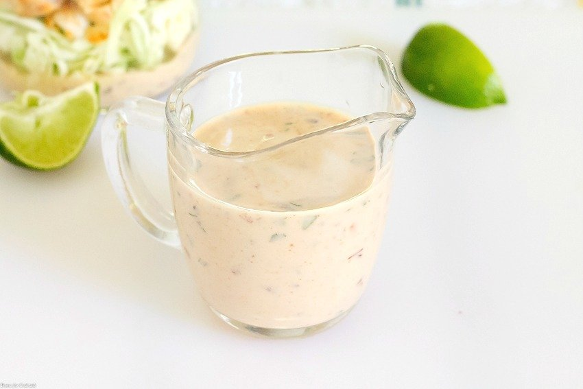 Creamy Chipotle Lime Dressing