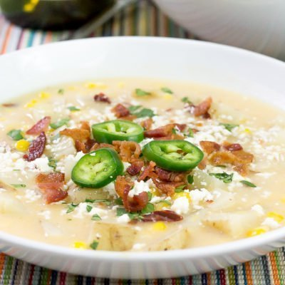 Creamy Chipotle Corn Chowder