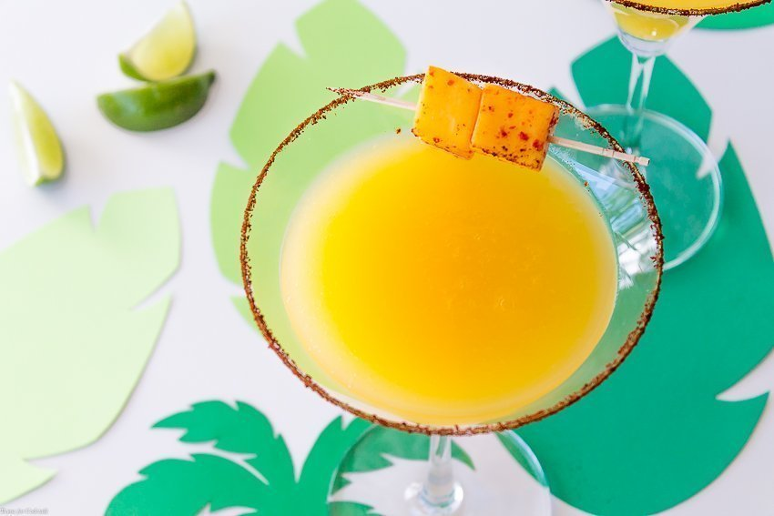 Chili Lime Mango Martini