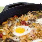 one pan 10-ingredient Southwest Steak And Eggs Skillet