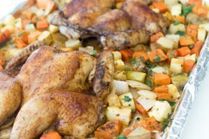 Sweet Chipotle Cornish Hens
