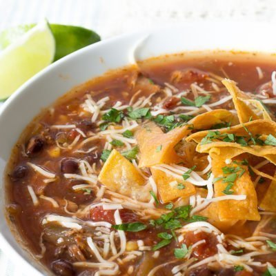 Easy Turkey Tortilla Soup Recipe