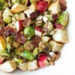 Brussels Sprouts Panzanella Salad