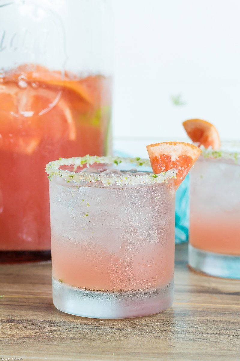 Sipping on this Blood Orange Paloma Punch recipe with bright citrus flavors will make you feel like you are strolling sunny streets south of the border.