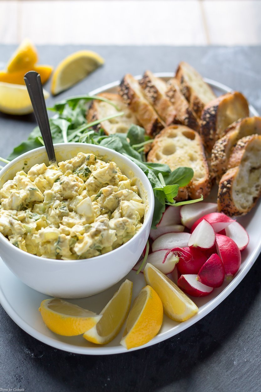Are you looking to jazz up a boring lunch routine? Once you try this Green Chile Blue Cheese Egg Salad recipe you'll never want plain egg salad again.