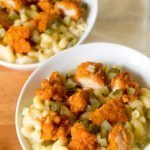 ThisNashville Hot Chicken Mac and Cheese is sospicy + creamy it takes me back to this summer when we spent the weekend eating our way through Tennessee.
