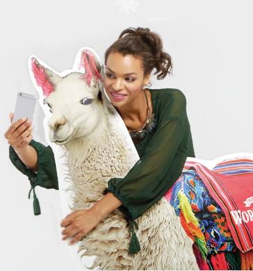 What are you doing this weekend?! Celebrate National Llama Day on Saturday, December 9th with me and Cost Plus World Market.