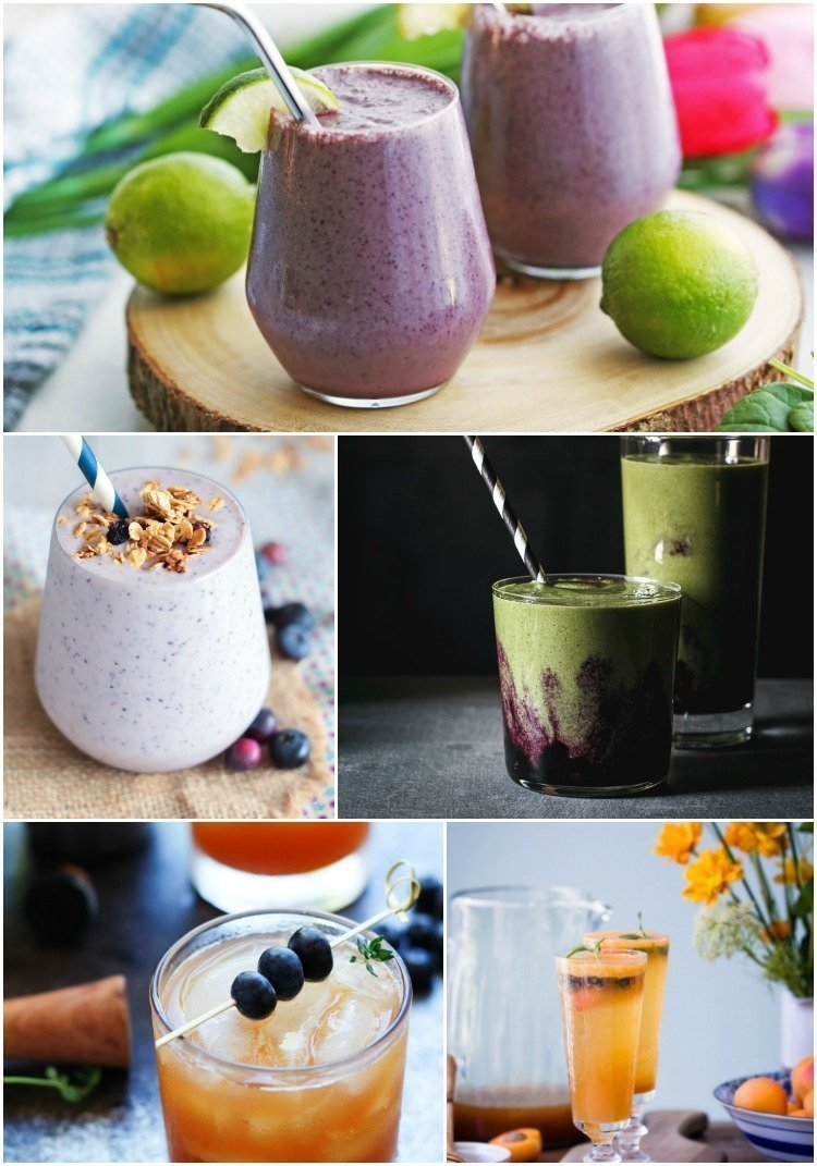 Fresh Blueberry Recipes - Blueberry Drink Recipes