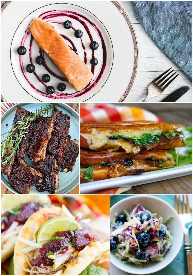Fresh Blueberry Recipes - Savory Blueberry Recipes
