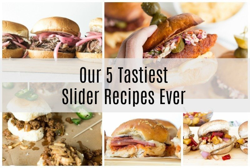 We think little sandwiches are big fun! Do you need an easy recipe to feed a hungry crowd? Our fiveTastiest Slider Recipes ever are a combo of baked, slow cooked, and grilled bite-sized morsels delicious for any occasion.