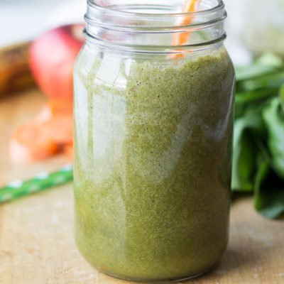Power Green Pineapple Ginger Smoothie